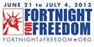 """Fortnight for Freedom"" begins Friday"