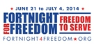 """Freedom to Serve"" focus of third Fortnight for Freedom, June 21-July 4"